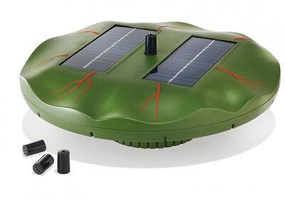 Pump Solar Fountain Energy Solar Pond Water Garden 4 Nozzles