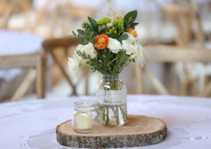 Event/ wedding 14 x wooden log centerpieces Chermside Brisbane North East Preview