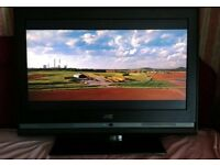 """JVC HD Freeview TV 26"""" WORKING WITH REMOTE"""