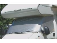 Silverscreen Insulated Windscreen Cover for Fiat, Peugeot and Citroen Motorhome/Camper