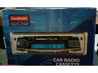 Goodmans GCE 742 car radio cassette