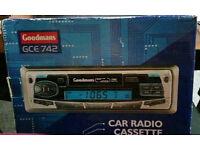 Goodmans GCE 742 car radio cassette