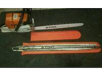 Stihl ms650 chainsaw