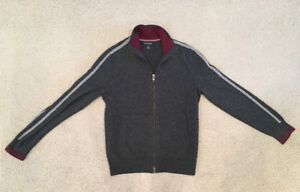 Banana Republic merino wool track jacket