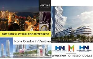 TORONTO NEW CONDOS FORT YORK & BATHRUST VIP Upto $3,000 CASHBACK