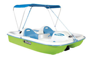 Monaco Deluxe Angler Pedal Boats with Free Canopy and Cover!