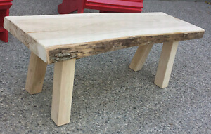 Live Edge Bench *Delivery Available *