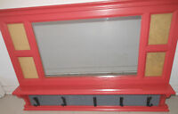 Mirror with picture Frames