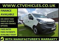 2015 15 Vauxhall Vivaro 1.6CDTi 2900 L2H1 LWB 115bhp diesel van