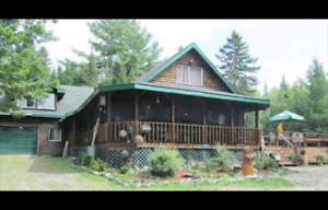 LOG CABIN HOME FOR SALE