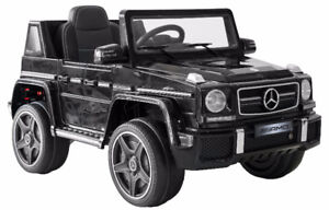 ELECTRIC MERCEDES G63 - WITH WIRELESS REMOTE