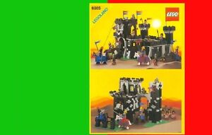 Set Lego 6085 Black Monarch Castle Chateau BRIQUES TOYS JOUETS