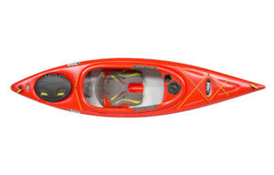 Pelican Premium Escape 100x Kayaks in orange Paddle included