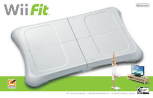 Wii Fit board and game disc