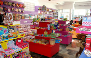 Candy and Ice Cream Shop for Sale