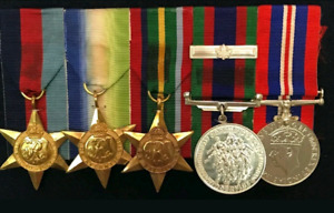 Military service war medals WW1/WW2 - looking to buy