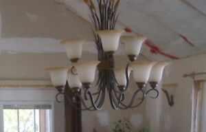 Farm or cottage chandelier