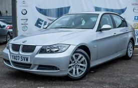 2007 BMW 3 SERIES 318D SE 2.0 DIESEL NEW MOT 5 SERVICES LAST AT 74K REAR PARKING