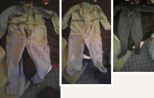 3 pairs of coveralls