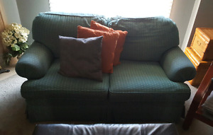 Love Seat .. (2) Accent Chairs .. TV Stand
