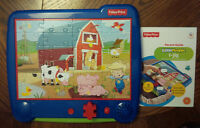 Fisher Price I-Jig Interactive Electronic Puzzle System