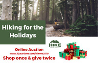 Hiking for the Holidays Online Auction: Nov. 16-30