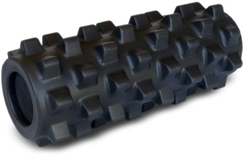 """Rumble Roller X-FIRM RumbleRoller Deep Massage Foam Roller RRCX127 - 12"""" BLACK"""