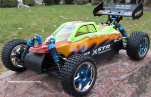 New Brushless Electric RC Buggy / Car 4WD 2.4G LIPO Fast RC
