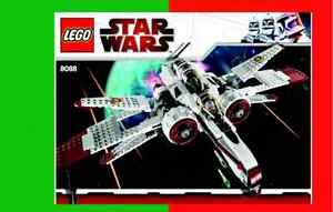 Set Lego 8088 ARC-170 Starfighter Star Wars BRIQUES TOYS JOUETS