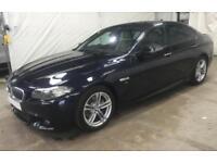 2016 BLACK BMW 520D 2.0 M SPORT DIESEL AUTO SALOON 4DR CAR FINANCE FR £54 PW