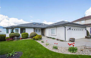 SALMON ARM - Gorgeous level entry home with stunning lakeview!