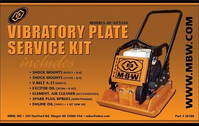 Mbw Plate Compactor Gpap 3550 Service Kit Whonda Engine