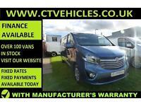 2016 16 plate Vauxhall Vivaro 1.6CDTi Sportive 2900 ecoFLEX LWB L2H1 SAT/NAV A/C
