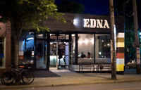 EDNA is looking for an experienced line cook!