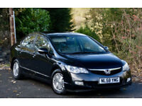 Honda Civic 1.4 IMA Hybrid ( lth ) CVT ES 2008 BLACK HYBRID ELECTRIC