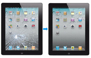 Apple iPad 2, 3, 4, Air & Air2 Broken Glass & Motherboard repair