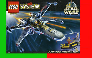 Set Lego Star Wars 7140 X-Wing Fighter BRIQUES TOYS JOUETS video