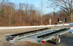 2017 STEADY DUAL-DUTY Pontoon Trailer ed2720lbs CAPACITY+18'-22' Peterborough Peterborough Area image 4