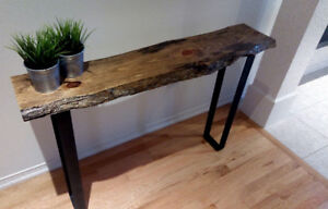 LIVE EDGE CONSOLE - 4FT - Brand NEW