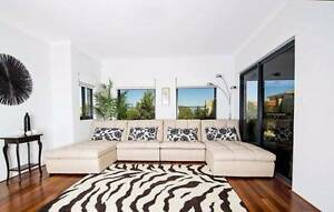 FREE PERTH METRO DELIVERY - ENORMOUS LEATHER MODULAR SOFA Bayswater Bayswater Area Preview