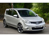 Nissan Note 1.5dci ( 90ps ) 2013MY N-TEC + Silver. LOW MILEAGE.