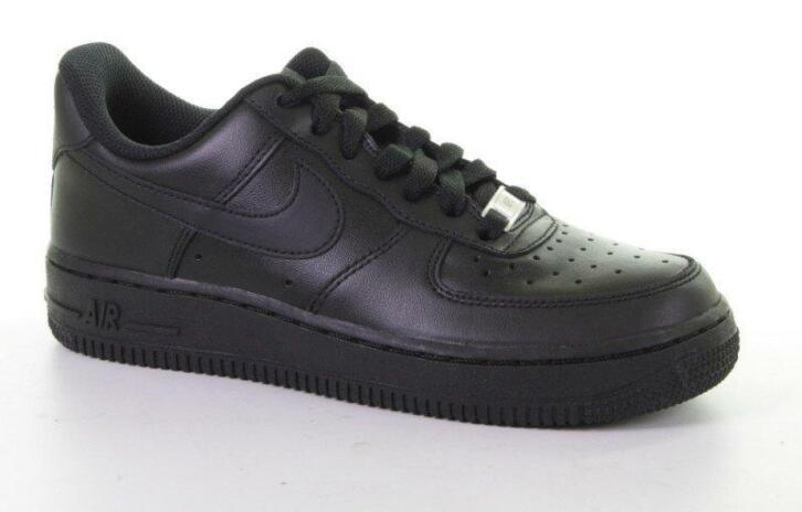 air force 1 zwart