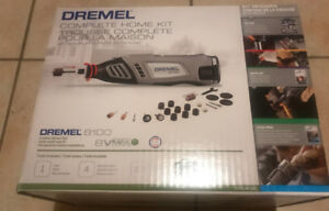 BRAND NEW DREMEL 8100 COMPLETE HOME KIT WITH 2 YEAR WARRANTY