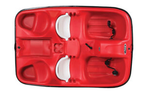 Pelican Sport Monaco pedal boats instock- last one in red