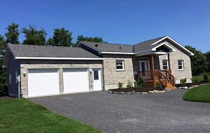 Beautiful new bungalow with walkout! 23 Calco Cres. Moose Creek! Cornwall Ontario image 2