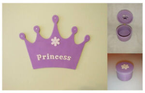 Princess crown frame & trinket mini box set