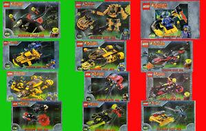 LEGO Lot de 12 sets ALPHA TEAM : Boutique spécialisée LEGO