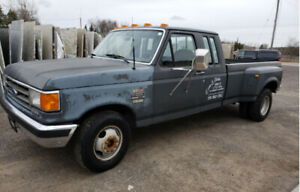 BARN FIND!!! 1989 Ford F350 Diesel with Turbo