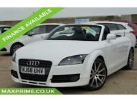 AUDI TT 2.0 TFSI WHITE CONVERTIBLE FULL HISTORY + JUST SERVICED + MOT 2019