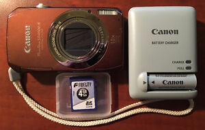 Canon PowerShot SD4500 IS with Image Stabilizer